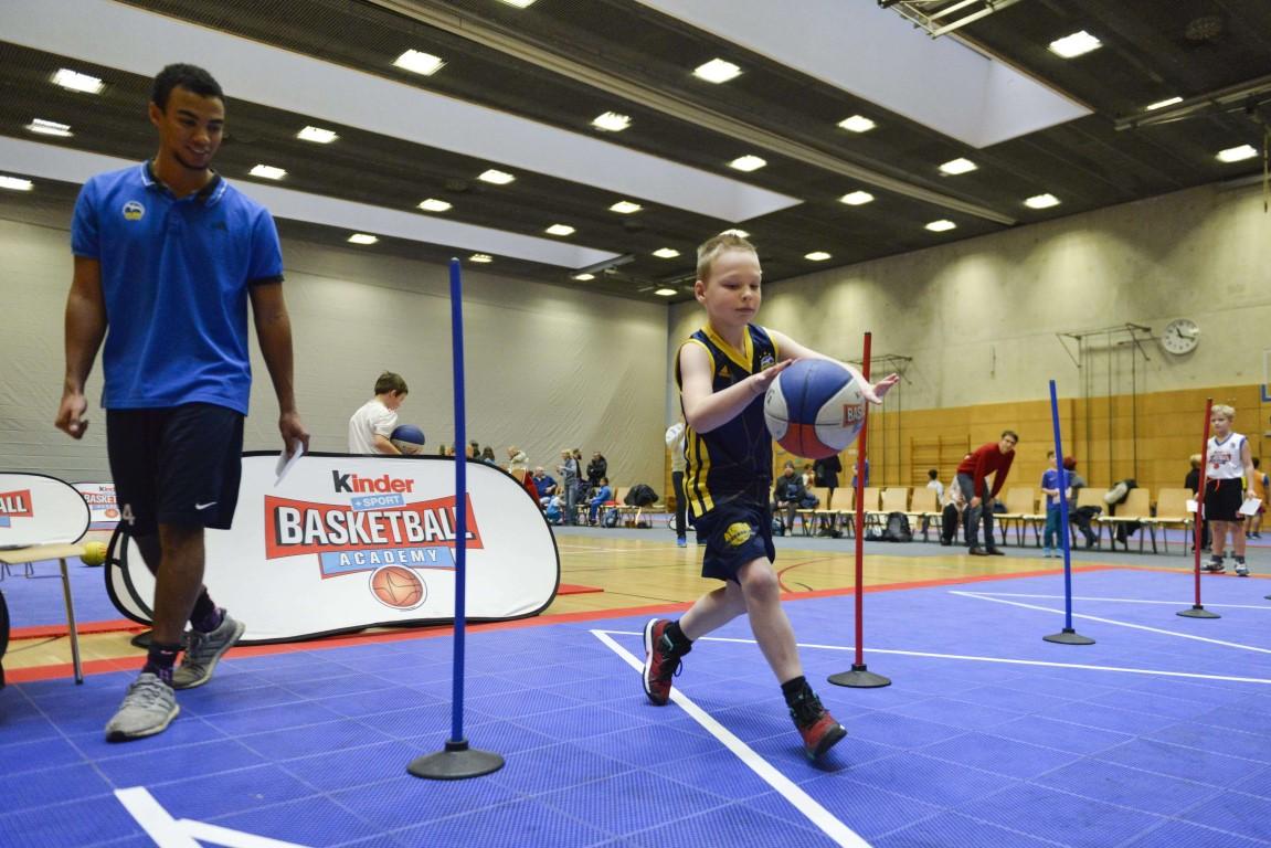 kinder+Sport Basketball Academy - ALBA BERLIN Basketballteam