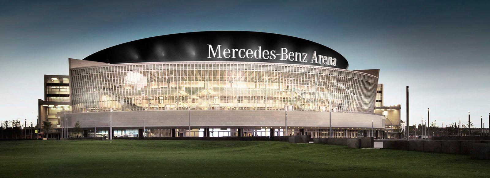 mercedes-benz arena - alba berlin basketballteam
