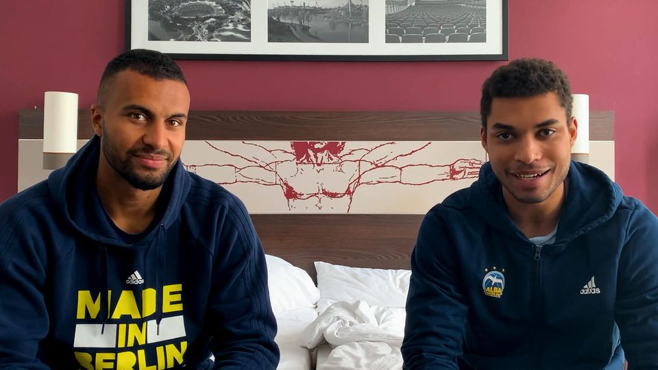 LOTTO Berlin Fantalk aus dem Teamhotel mit Johannes Thiemann & Kenneth Ogbe