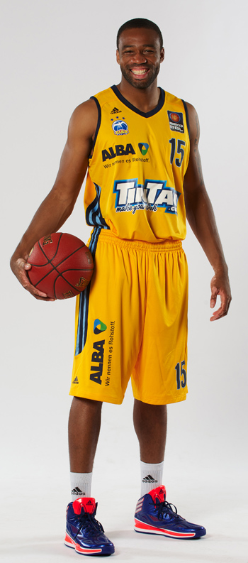 Reggie Redding 15 Reggie Redding ALBA BERLIN Basketballteam